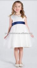 Girls white christening dress