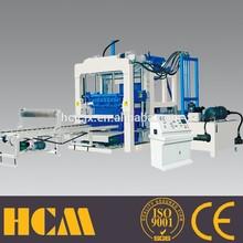 Professional QT10-15 Hydraulic high pressure concrete/cement/fly ash block machine,complete set of brickyard equipments