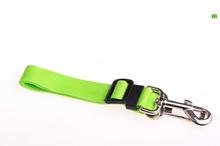 Green Adjustable Dog Pet Car Safety Seat Belt Harness Restraint Lead Leash Travel Clip