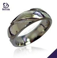 new arrived wholesale 2015 stainless steel master slave ring