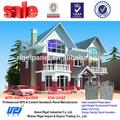 Baixo custo de concreto pré-fabricadas casa planos com 1 chão