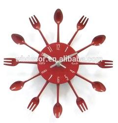 2015 new design glass wall clock