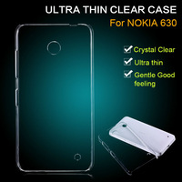 PC Ultra Slim Clear Transparent For Nokia Lumia 630 Case Cover