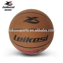 Micro fiber basketball PU