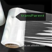 casting pe flim transparent stretch film plastic