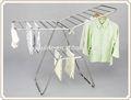 Multi- propósito rejilla de secado de acero inoxidable ropa estante de exhibición