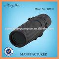 10x25 negro de goma telescopio/binoculares/telescopio terrestre