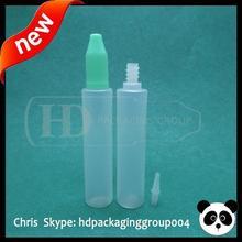 China NEw 30ml/1oz eliquid pen style dropper bottle long dropper mixed colors New child safty cap