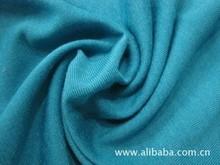 EN11612 flame retardant blue cotton knitting fabric for FR shirt