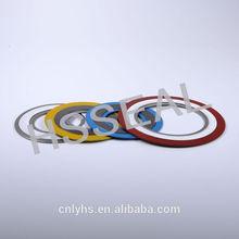 pressure vessel/heat exchanger/compressor seal spiral wound gasket