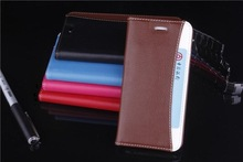 New design card slot PU leather case for iphone 6/6plus