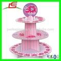 N631 alibaba gros carton 3 fête d'anniversaire fête de mariage tier cake stand
