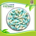 shippment rápido de gelatina azul blanco para la cápsula de la píldora