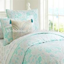 Light Green 100 Cotton Fancy Home Use Bedding Duvet Cover