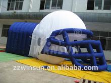 extrem popular inflatable football helmet tunnel