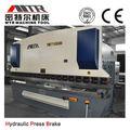 wc67y cnc hidráulica de la hoja de metal de la viga de la máquina de flexión