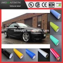 Custom car body sticker 1.52*30m white wrap vinyl stretchability car wrap sticker