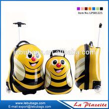 ABS/PC school trolley bag, animal kid bag, cheap children school backpack