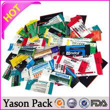 Yason label usb flash drive adhesive label stickers food label