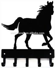 Horse Farm Animal Key Rack with 5 hooks