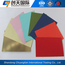 pvc laminated steel sheet for door/pvc coated timber effect steel coils