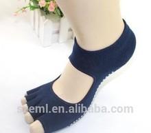 Manufacturers selling Cotton Yoga socks deodorant antibacterial backless sports socks brand Yoga socks wholesale