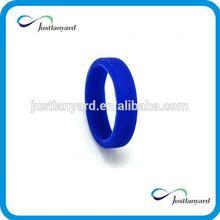 Promotional fashion customized sports silicone finger band
