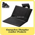 excellect calidad china suministro a granel personalizado cubierta de cuero pasaporte