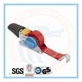 "Eb25009 1"" retractablee correa de trinquete, de amarre de carga, bandalateral"