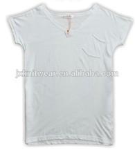 plain white fitness ladies/girls/women t shirts