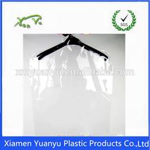 resealable disposable clear suit garment plastic bag