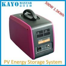500W portable home solar generator 110V 220V 230V