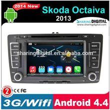 Android 4.4 for Skoda Octaiva car Navigation system SKD-709GDA