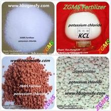 factory supply KCL 60% Potassium Chloride Fertilizer