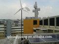 3kw híbrido solar wind turbina de vento horizontal/gerador eólico/equipamentos de energia eólica