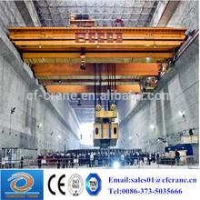 High quality 25 ton~50 ton mobile electric bridge crane with hoist