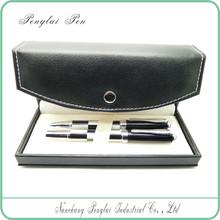 Luxury leather pen gift set Wholesale publicity promotional metal promotion and fashion pen set