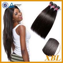 XBL real 100 percent human hair overseas brazilian hair