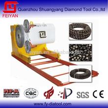 Diamond wire saw machine
