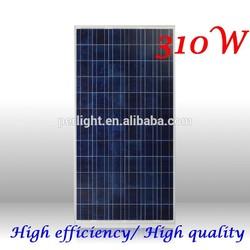 Top supplier high efficiency solar panel 310W, High quality 25 years warranty 310W solar panel, A-grade 310W solar panel