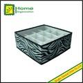 16 divisores não tecido sutiã e calcinha caixa de armazenamento