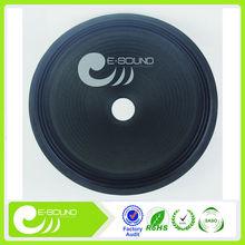 15 inches cloth edge dot desgin pressed paper cone-50mm speakers subwoofer