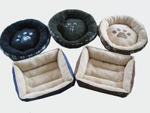 Luxury sofa soft fleece cheap cute dog beds