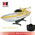 27 mhz 3ch sciopero velocità della barca modello del rc barca idro, nqd barca rc motore brushless con 15km/h.