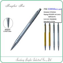 Thin slim 24 holes pen barrel body new novelty shaped pens with logo