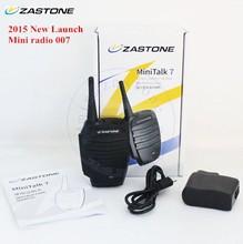 2015 high quality wireless microphone MINI TALK 7 mini 2 way walkie talkies and wireless microphone