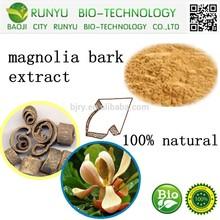 manufacrure, high quality magnolia bark extract(CAS No.:528-43-8)