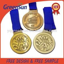 3d Deisgn Metal Sports Medallion China Wholesale