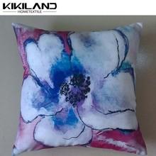 pittura ad acquerello guardare a buon mercato cuscini disegni floreali