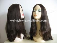 hot sales factory price 100% European human hair virgin Jewish wig